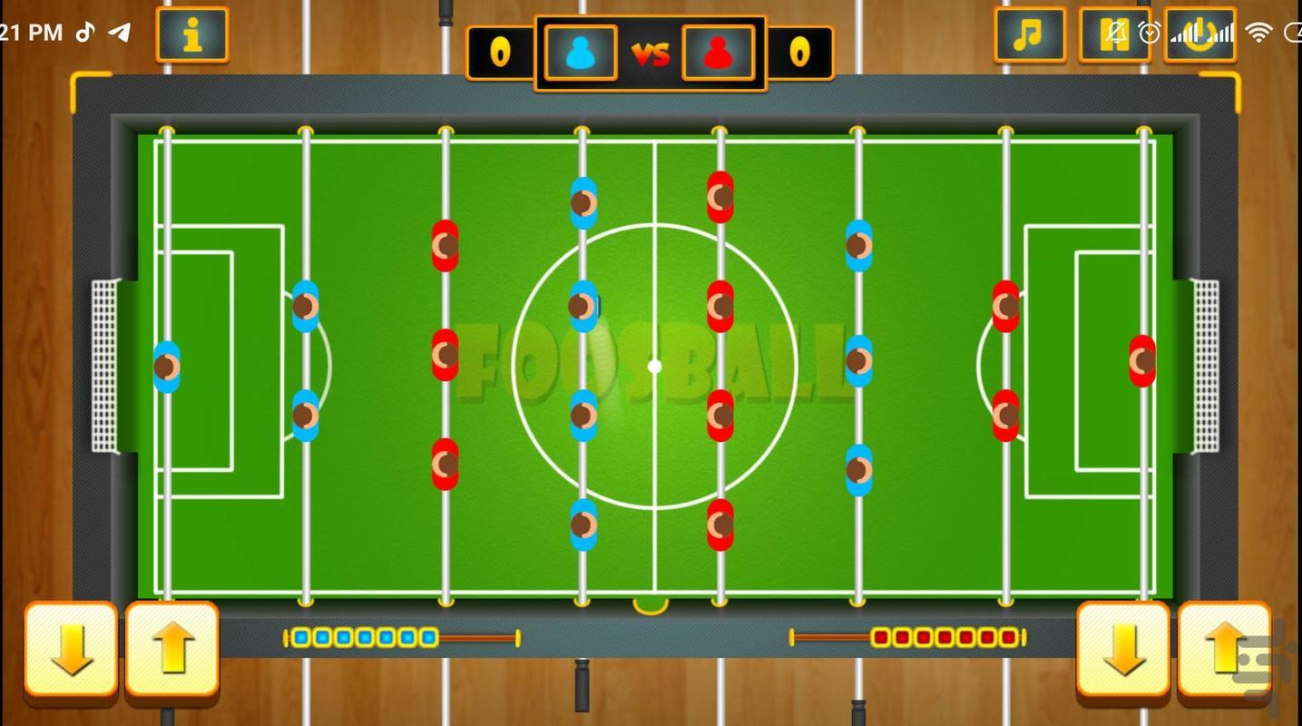 فوتبال دستی حرفه ای - عکس بازی موبایلی اندروید