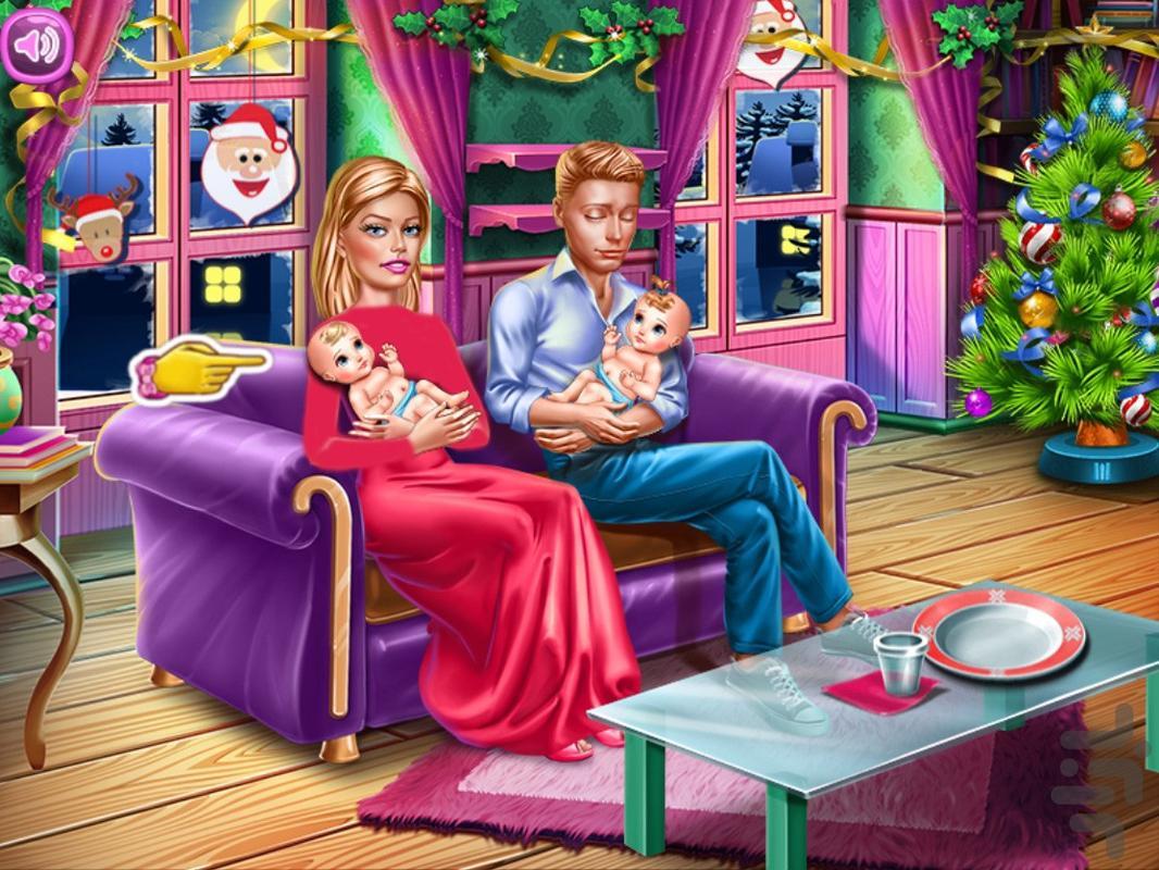 خونه داری بچه داری - عکس بازی موبایلی اندروید