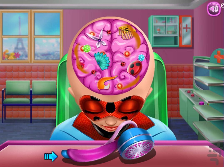 دکتر مغز دختر کفشدوزکی - عکس بازی موبایلی اندروید