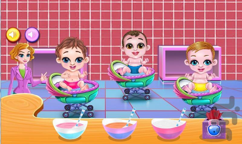 خونه داری و بچه داری - عکس بازی موبایلی اندروید