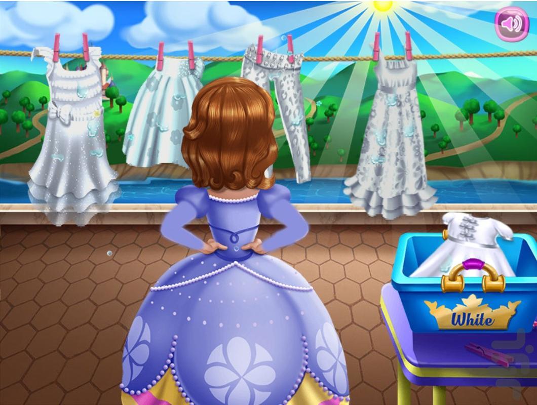 السا و شستن لباس ها - عکس بازی موبایلی اندروید