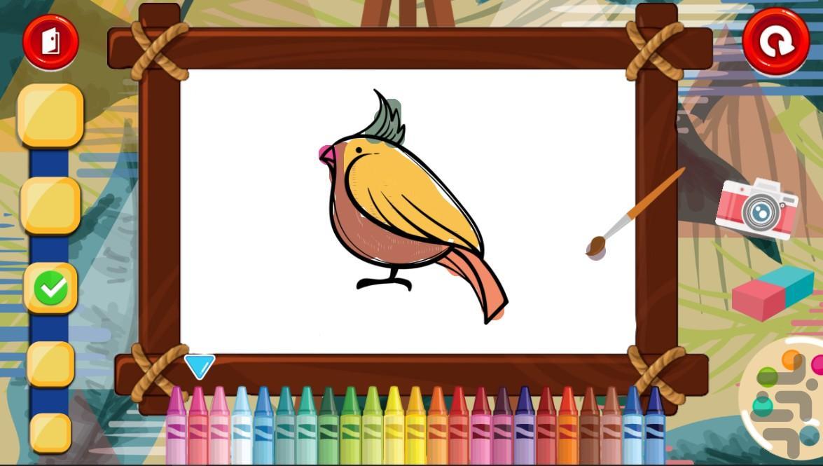 کتاب نقاشی کودکانه - عکس برنامه موبایلی اندروید