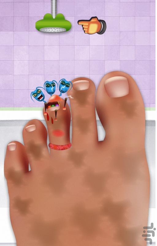 دکتر جراح پا - عکس بازی موبایلی اندروید