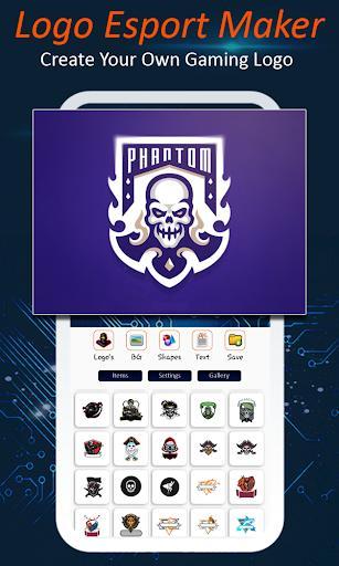 Logo Esport Maker   Gaming Logo Maker Esport - عکس برنامه موبایلی اندروید