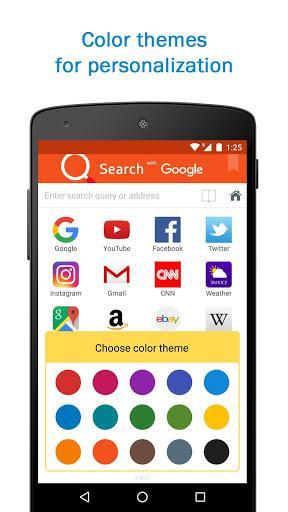 Smart Search & Web Browser – light & fast engine - عکس برنامه موبایلی اندروید