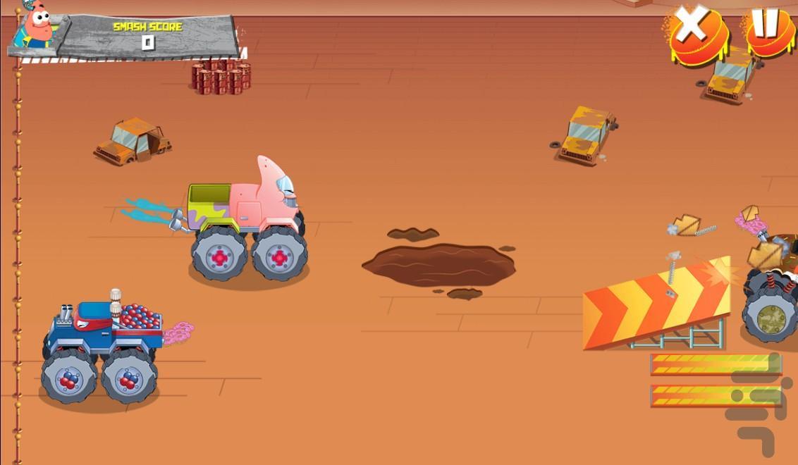 ماشین جنگی باب اسفنجی - عکس بازی موبایلی اندروید