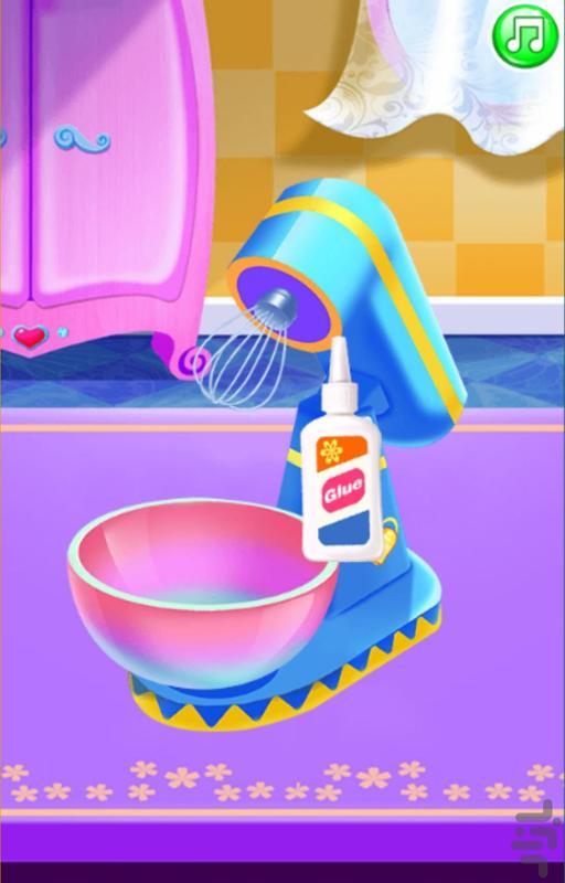 بازی طراحی اسلایم عروسکی - عکس بازی موبایلی اندروید