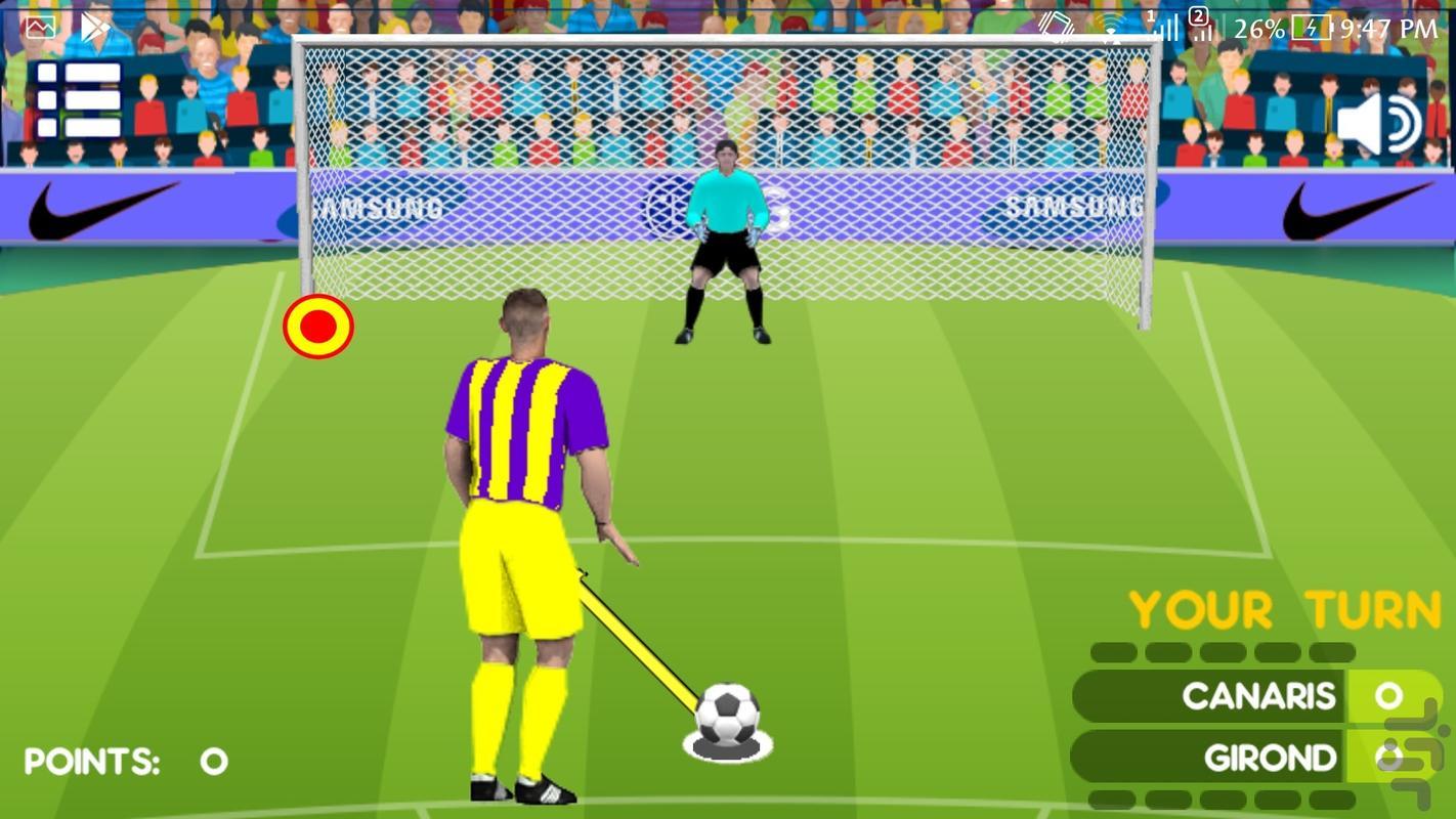 پنالتی - عکس بازی موبایلی اندروید