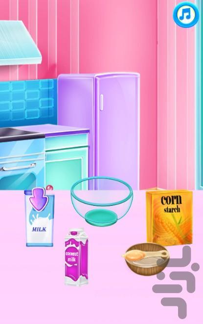 کیک پزی شاهزاده السا - عکس بازی موبایلی اندروید