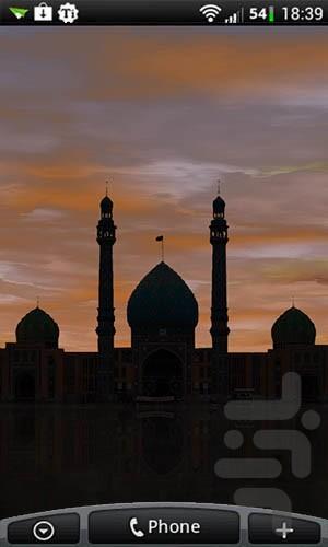 مسجد جمکران (والپیپر زنده) - عکس برنامه موبایلی اندروید