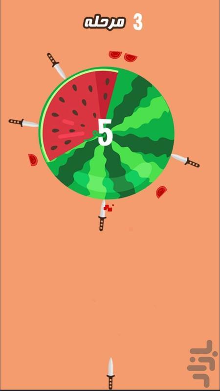 پرتاب چاقو - عکس بازی موبایلی اندروید