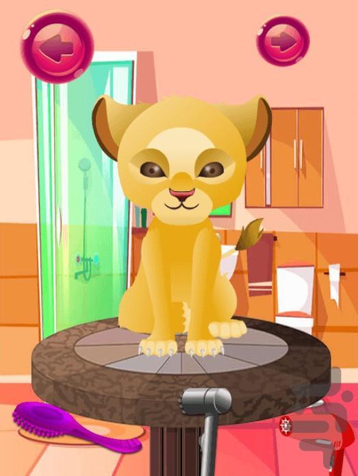 مراقبت از گربه کوچولوها - عکس بازی موبایلی اندروید