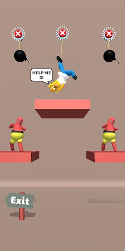 Save the Dude! - Rope Puzzle Game - عکس بازی موبایلی اندروید