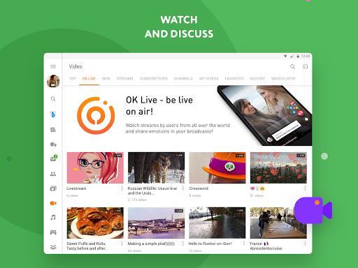 OK – شبکهی اجتماعی اوکی - عکس برنامه موبایلی اندروید