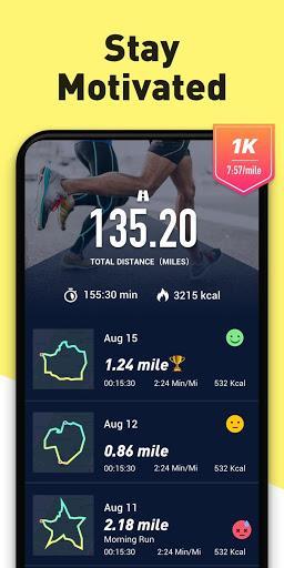 Running App - Run Tracker with GPS, Map My Running - Image screenshot of android app