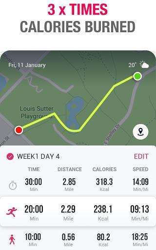 Running to Lose Weight - Running App & Map Runner - عکس برنامه موبایلی اندروید