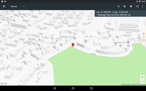 Map Coordinates - عکس برنامه موبایلی اندروید