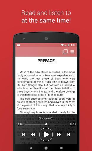 Free Books and Audiobooks - عکس برنامه موبایلی اندروید