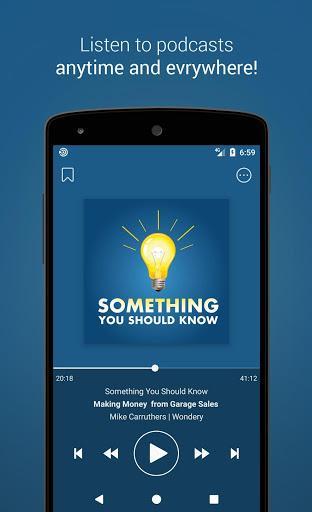 Podcast Go - عکس برنامه موبایلی اندروید