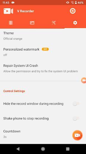 Screen Recorder, Video Recorder, V Recorder Lite - عکس برنامه موبایلی اندروید