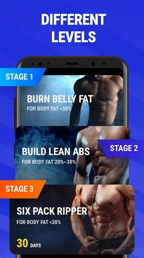 Abs Workout - Six Pack 30 Days Challenge - عکس برنامه موبایلی اندروید