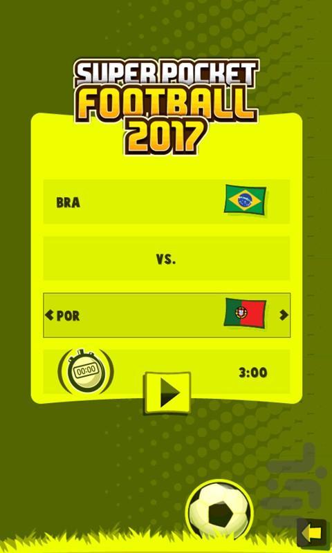 فوتبال جیبی ۲۰۱۷ - عکس بازی موبایلی اندروید