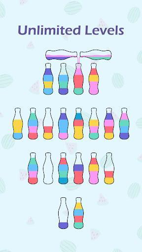 SortPuz: Water Color Sort Puzzle Games - عکس بازی موبایلی اندروید