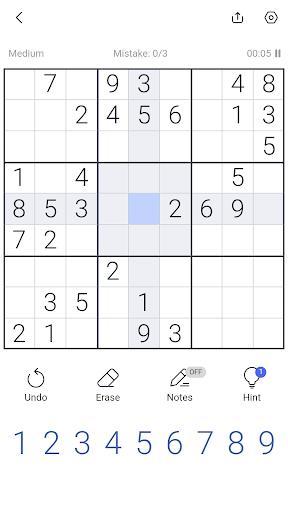 Sudoku - Free Sudoku Puzzle, Brain & Number Games - عکس بازی موبایلی اندروید