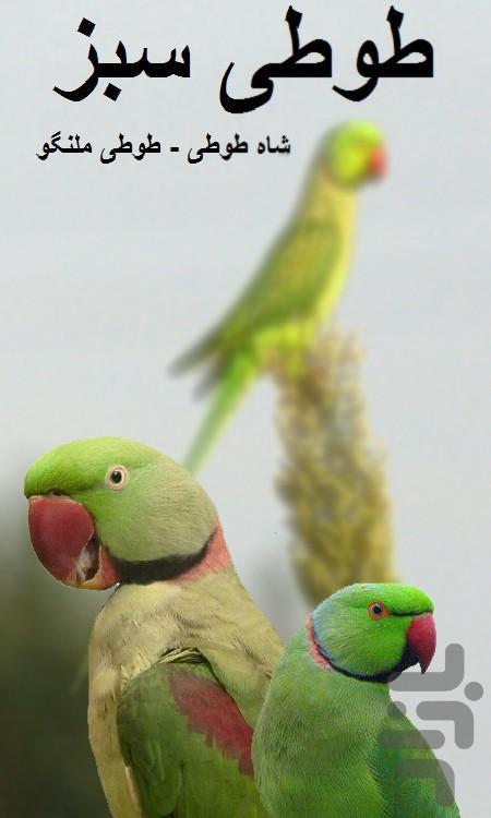 طوطی سبز (شاه طوطی و ملنگو) - عکس برنامه موبایلی اندروید