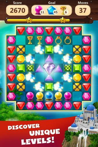 Jewels Planet - Free Match 3 & Puzzle Game - عکس بازی موبایلی اندروید