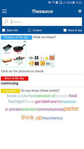 Collocations - Thesaurus English Offline - عکس برنامه موبایلی اندروید