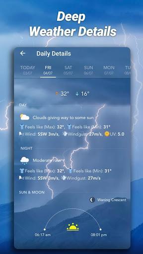 Accurate Weather: Weather Forecast, Clima Widget - عکس برنامه موبایلی اندروید
