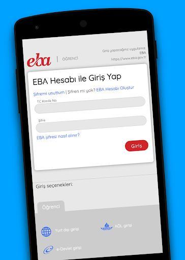 EBA - عکس برنامه موبایلی اندروید