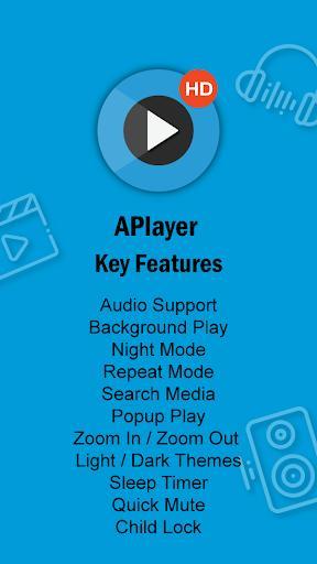 Full HD Video Player - HD Video Player - عکس برنامه موبایلی اندروید