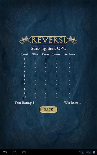 Reversi Free - عکس بازی موبایلی اندروید