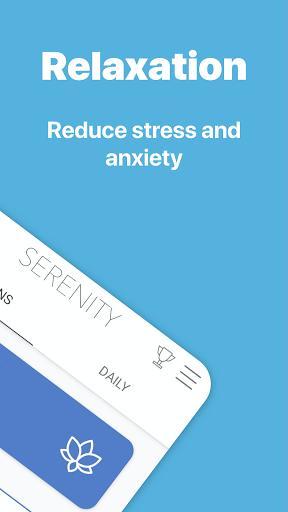 Serenity: Guided Meditation & Mindfulness - عکس برنامه موبایلی اندروید