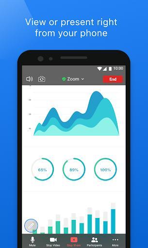 ZOOM Cloud Meetings - عکس برنامه موبایلی اندروید