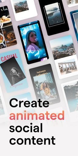 mojo - Create animated Stories for Instagram - عکس برنامه موبایلی اندروید