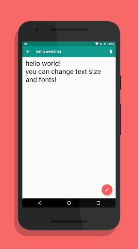 txtpad — Notepad for Android, Create txt files 🗒️ - عکس برنامه موبایلی اندروید