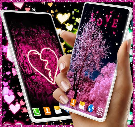 Love Hearts Live HD Wallpaper - عکس برنامه موبایلی اندروید