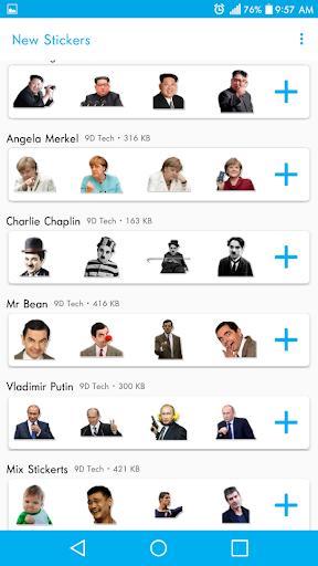 Stickers For WhatsApp - WAStickerapps - عکس برنامه موبایلی اندروید
