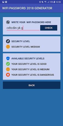Wifi Password Free Generator - عکس برنامه موبایلی اندروید