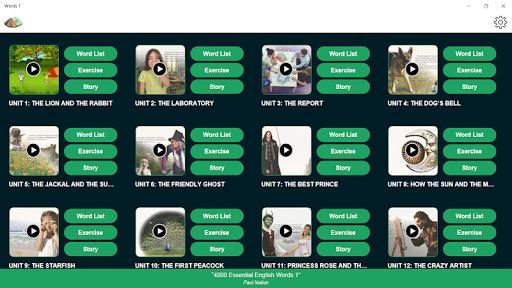 4000 Essential English Words 1 - عکس برنامه موبایلی اندروید
