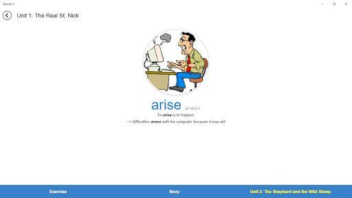 4000 Essential English Words 3 - عکس برنامه موبایلی اندروید