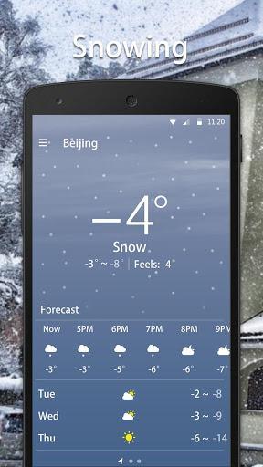 Weather: Live Weather Forecast & Widgets - عکس برنامه موبایلی اندروید