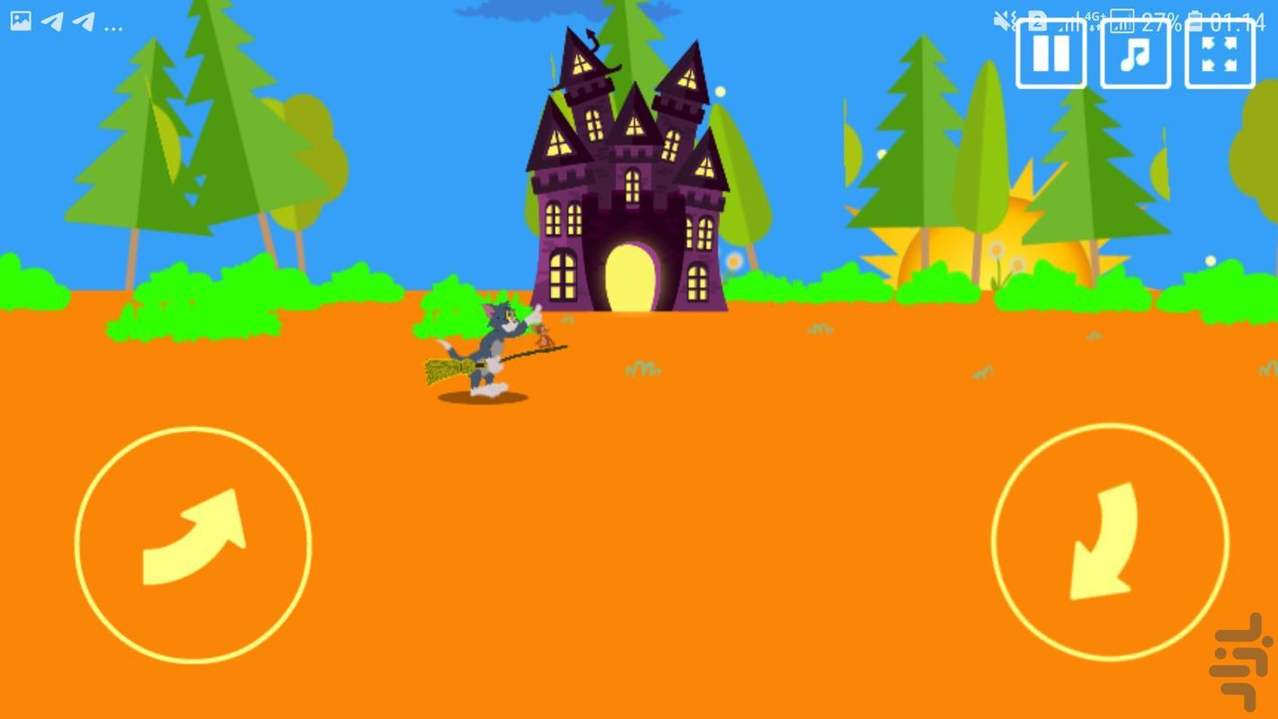 موش و گربه جادوگر - عکس بازی موبایلی اندروید
